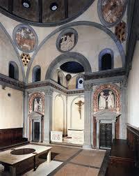 old sacristy of san lorenzo medici chapel