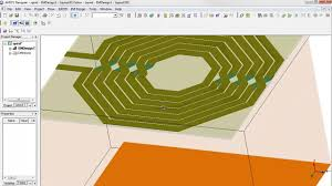 Inductor Design Tutorial Ansys Electromagnetics Spiral Inductor Part 1 Geometry