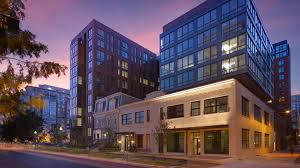 Eye Street Apartments Now Leasing In Mt Vernon Triangle - Warehouse loft apartment exterior