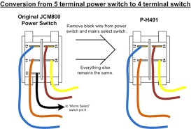 prong switch wiring image wiring diagram help marshall 2203 5 pin power switch marshallforum com on 5 prong switch wiring