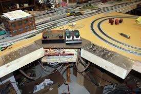 train layout wiring and controls rh w8ji com ho scale track layout plans ho train layout