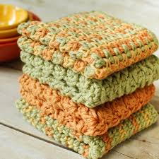 Easy Crochet Dishcloth Patterns Mesmerizing Crochet Dishcloths 48 Quick And Easy Crochet Dishcloth Patterns