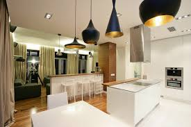 great black kitchen pendant light for dining room impressive design idea modern tom dixon feat cozy white barstool and island with stove lantern gold
