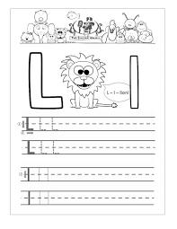 Kids. working sheets for preschoolers: Letter L Worksheets For ...
