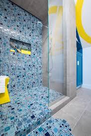 blue tiles bathroom. 26 Bathroom Ideas Mosaic Tiles, Perfect Idea To Renew Your Design With - Loonaonline.com Blue Tiles