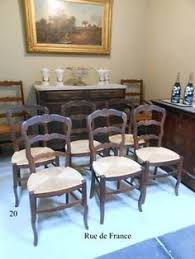 vine french antique carved oak provincial dining chairs
