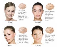 skin tone fair inika shades of foundation brand makeup concealer korean