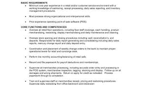 Retail Sales Associate Job Description For Resume Impressive Retail Sales Associate Job Duties For Resume Physicminimalistics