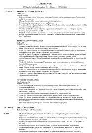 Resume Of Trainer Trainer Technical Resume Samples Velvet Jobs