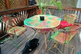 painting wrought iron furniture. Painting Wrought Iron Patio Furniture Chairs .