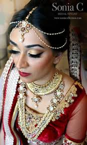 sonia c bridal stylist indian bridal makeup stani bridal makeup sonia c portfolio soniacbeauty bridal makeup indian bridal makeup