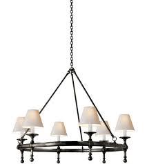 visual comfort sl5812bz np e f chapman classic 6 light 33 inch bronze chandelier ceiling light