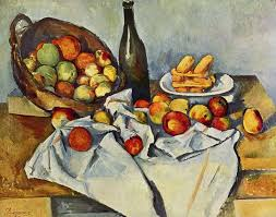 the basket of apples by paul cezanne