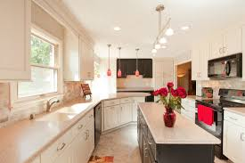 Kitchen White Small Galley Design