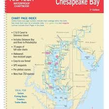 Upper Chesapeake Bay Chart Upper Chesapeake Bay Waterproof Chartbook By Maptech Wpb0430 01