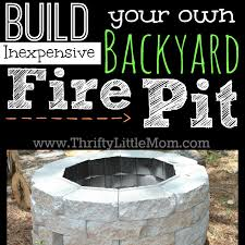 build your own inexpensive backyard fire pit what is a76