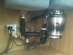placement which side of a sink should i install a garbage garbage disposal on small bowl