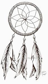 How To Draw A Dream Catcher View Drawn Dreamcatcher Simple Pencil Color 100 Dream Catcher 51