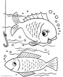 Clownfish, fringetail, pike, shark, eel, haddock, atlantic salmon, marlin, yellow perch, roach, tench, carp, atlantic mackerel, halibut, foureye butterflyfish. Fish Coloring Pages