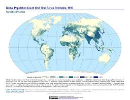 series maps maps global population count grid time series estimates v1 sedac