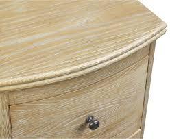 Weathered Oak Furniture Bastille Weathered Oak Bedside Table Loaf