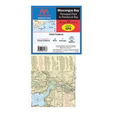 Maptech Waterproof Charts Maine Wpc077 01 77 Muscongus Bay