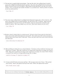 linear equations in one variable word problems worksheet pdf great system of algebra 1 involving rational