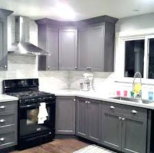 white kitchen cabinets with black appliances excellent white kitchen cabinets with black appliances grey cabinets black