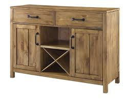 Buffet Table With Wine Rack Dining Room Storage Sideboard Cabinet - Buffet table dining room