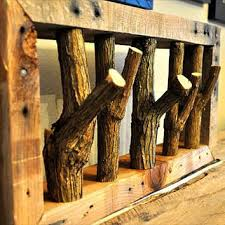 Rustic Coat Rack Tree Mesmerizing Shop Rustic Coat Rack On Wanelo
