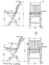 Chair Technical Drawing ClipartXtras