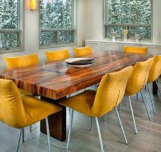 yellow dining chairs for