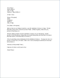 Letter Template For Introduction Of Business Fresh Cover Letter
