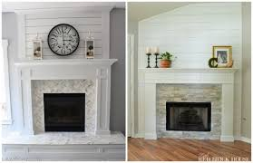 best brick fireplace makeovers - Brick Fireplace Makeover to ...