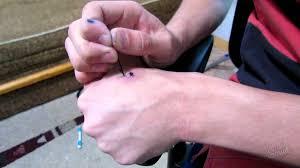 как сделать тату иголкой дома как набивать тату эскизы