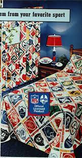 national football league nfl sheets sears 1975 fall catalog