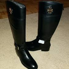 black boots wide calf nib riding leather uk