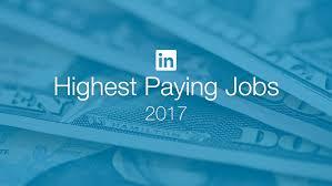 Highest Paying Jobs In America Based On Linkedin Salary Data