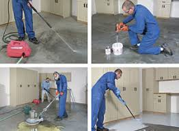 this excerpt from the taunton book garage solutions shows how to apply a tough epoxy coating this hightraffic area for clean durable and lightfilled finishing garage floor u31 finishing