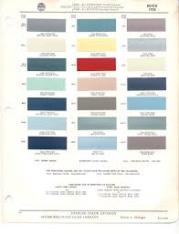 Paint Chips 1958 Buick