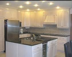 painted white kitchen cabinets. White Oak Kitchen Cabinets Office Table Pertaining To Inspirations 13 Painted