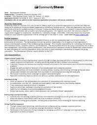 Fundraising Officer Sample Resume Fundraising Resume Resumes Director Sample Job Manager Thomasbosscher 15