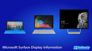 Laptop Screen Size Comparison Chart Microsoft Surface Screen Size And Resolution A Complete List