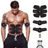 Welltec USB Ab Toner <b>EMS</b> Abs <b>Trainer Ab Stimulators</b> Abdominal ...