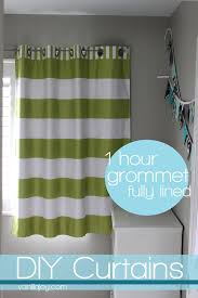 here s a quick run down on how to make fully lined grommet curtain