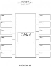 Guest Seating Chart Template 10 Wedding Seating Chart Template Floral Wedding Seating