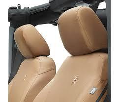 seat cover front 2007 2018 wrangler jk 2dr 4dr