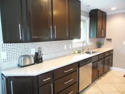 Ultimate Dark Cabinets Light Countertops About Kitchen Cabinets Dark