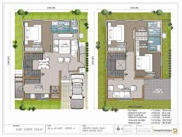 duplex house plans 30x40 west facing for site in bangalore indian small