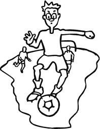 Voetbal Kleurplaat Gratis Kleurplaten Printen
